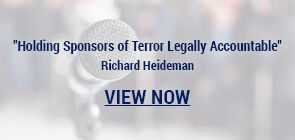 Holding Sponsors of Terror Legally Accountable