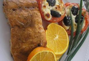 Orange-Glazed Salmon Fillets