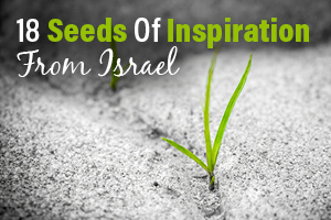 18 Seeds of Inspiration from Israel