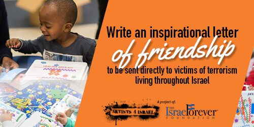 Letters of Friendship for Victims of Terrorism