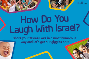 Sign Up for Laugh with Israel
