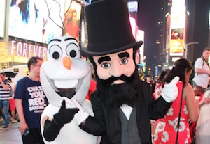 Why would Herzl meet Olaf the Snowman?