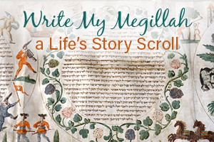 Write My Megillah - a Life's Story Scroll