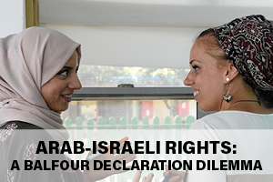 Arab-Israeli Rights: A Balfour Declaration Dilemma