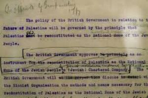 The Power of Words: Balfour and The First Draft
