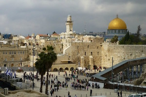 No Sense Denying the Jewish Connection to Jerusalem
