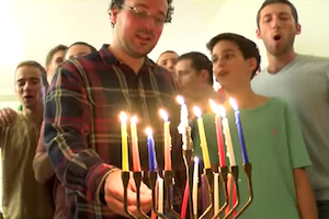 Kipa Lev For Chanukah