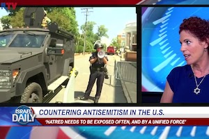 Elana Heideman speaks about antisemitism on Israeli television