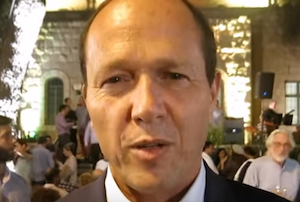 Mayor of Jerusalem, Nir Barkat, at Open House Jerusalem