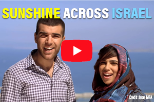 Sunshine Across Israel