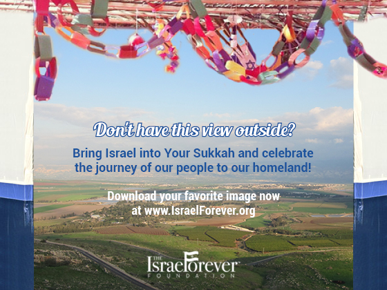 Add Israel To Your Sukkah!