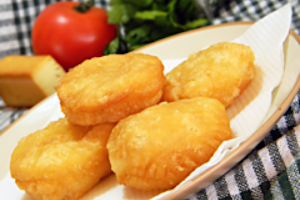 Fried Cheese Puffs
