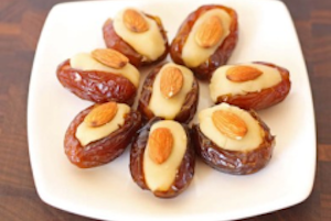 Almond Stuffed Dates
