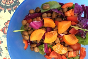 Persimmons Salad