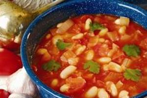 Israeli White Bean Soup