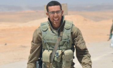 Modern-Orthodox combat training officer Lt. Mikey Soclof. Photo: IDF