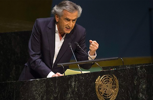 Modern Anti-Semitism: Bernard-Henri Lévy at the UN