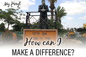 MY HERZL - MAKE A DIFFERENCE