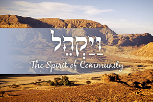The Spirit of Community: Parashat Vayakhel