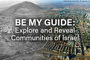 Be my Guide: Explore and Reveal Communities of Israel