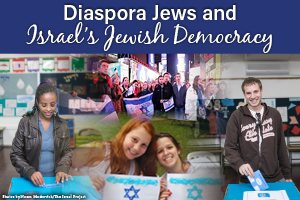 Diaspora Jews and Israel's Jewish Democracy