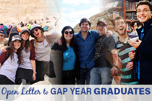 Open Letter to Gap Year Graduates